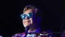 Elton John, seen here on Oct. 17, 2019, confirmed his mother-in-law's death at a Toronto concert on Thursday, playing his song 'Don't Let the Sun Go Down on Me' in her name. MATT SAYLES/THE ASSOCIATED PRESS