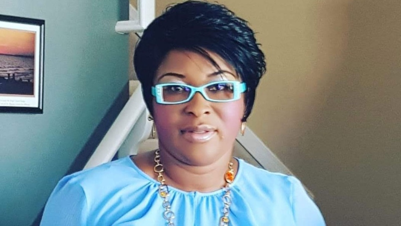 Deborah Onwu, a Calgary caseworker, died early Oct. 25 after she was stabbed during an apparent fight with one of her clients. (Supplied/GoFundMe)