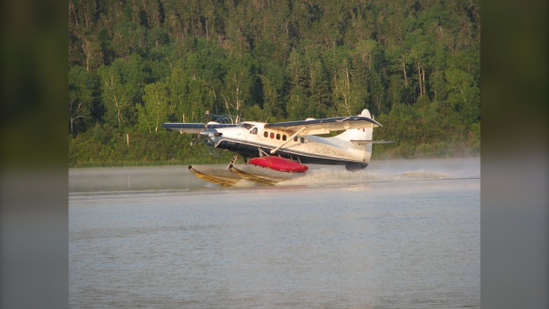 Plane crashes in lake near Little Grand Rapids with three passengers on board: RCMP