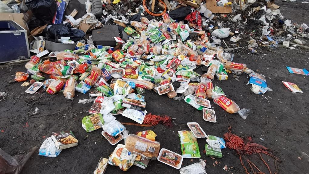 Food at landfill