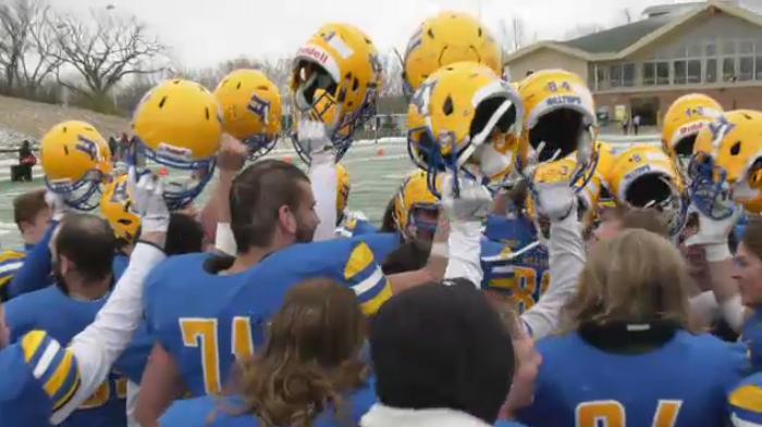 The Saskatoon Hilltops claimed their sixth straight Prairie Football Conference Championship.