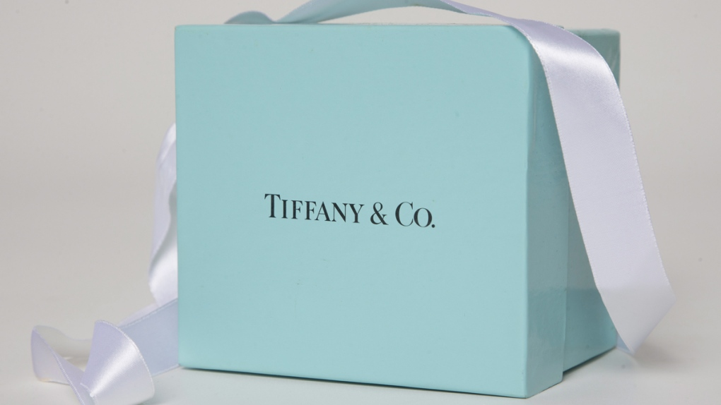 A gift box from Tiffany & Co.