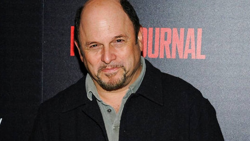 "FILE - In this Oct. 30, 2017, file photo, Jason Alexander attends a special screening of Marvel Studios' ""Thor: Ragnarok"", hosted by The Cinema Society, at The Whitby Hotel in New York. ""Seinfeld"" star Alexander, rocker Southside Johnny Lyon and the authors of ""Jaws"" and ""Game Of Thrones"" are among those being inducted to the New Jersey Hall of Fame. Fellow New Jersey rocker Jon Bon Jovi, already in the hall, is due to induct Southside Johnny during the ceremony in Asbury Park on Sunday, Oct. 27, 2019. AP, FILE  PHOTO BY CHRISTOPHER SMITH/INVISION"