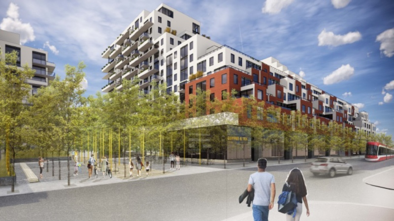 Artist's renderings of the Queen-Coxwell Revitalization. (Toronto Community Housing Corporation)