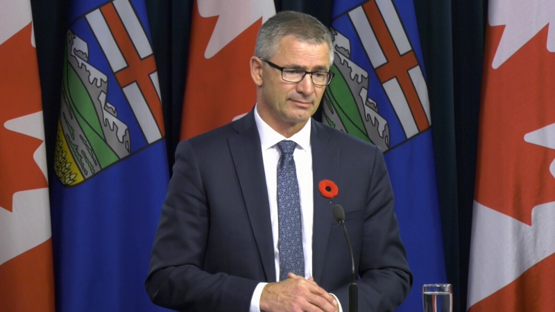 Alberta Finance Minister Travis Toews. File photo.
