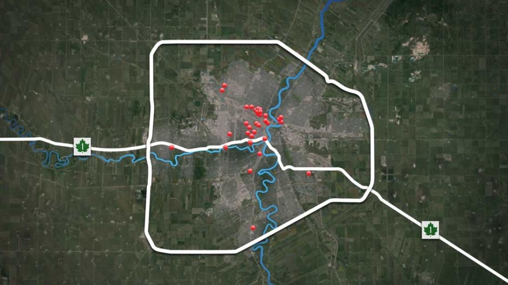 Winnipeg Homicides 2019 (Source:CTV News Winnipeg)