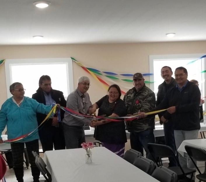 Montreal Lake Cree Nation opened a Crystal Meth Treatment Centre on Oct. 28, 2019. (Lisa Risom/CTV Saskatoon)