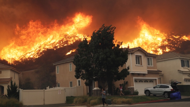wildfires in calif  causing power outages