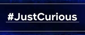 JustCurious button
