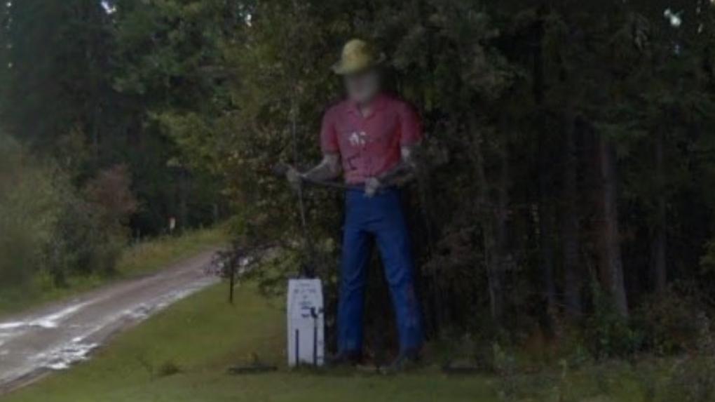 Massive Alaska Highway lumberjack statue destroyed by fire