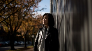 Krystal Yee poses for a photograph in Vancouver, on Monday October 28, 2019. THE CANADIAN PRESS/Darryl Dyck