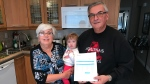 Marcus and Terry Zaum, of Brampton, say their insurance premiums increased by 62.5 per cent. (Pat Foran/CTV News Toronto)