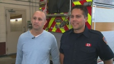 Man donates kidney to fellow firefighter