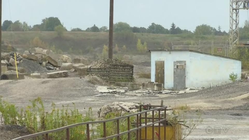 Guelph quarry plan