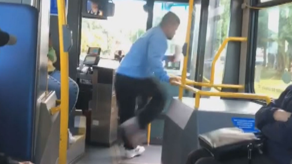 Bus kick Burnaby