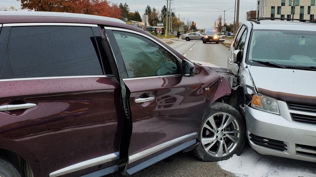 One seriously injured in multi-vehicle crash