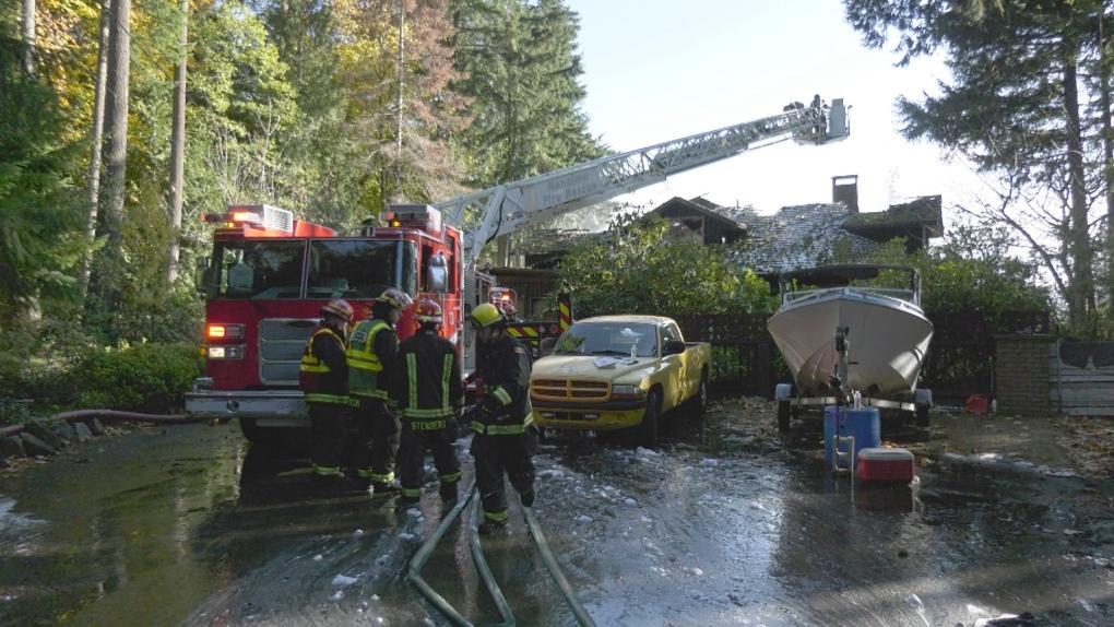 Nanaimo house fire