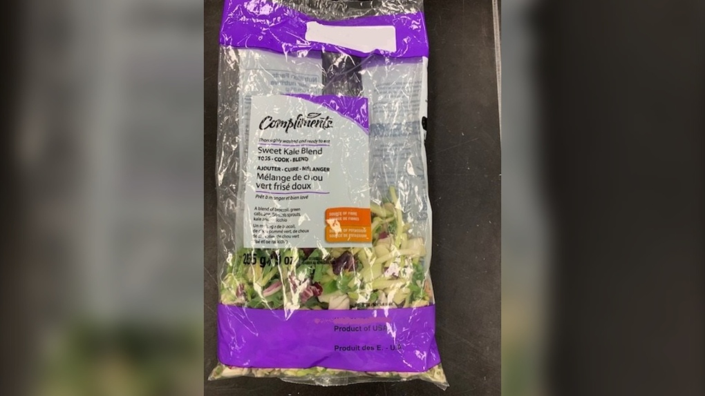 Compliments brand Sweet Kale Blend recalled due to listeria concerns