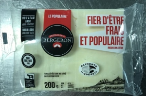 Fromagerie Bergeron Inc. is recalling several of its products due to possible salmonella contamination.