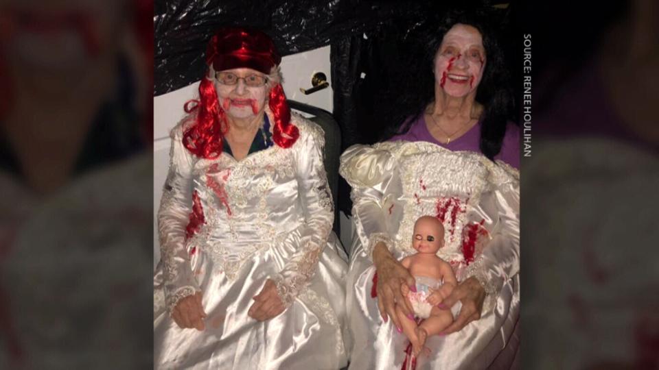 witless bay seniors halloween haunted house
