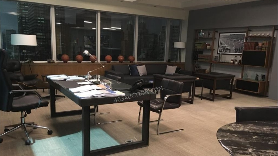 Harvey Specter's office props from the hit TV show
