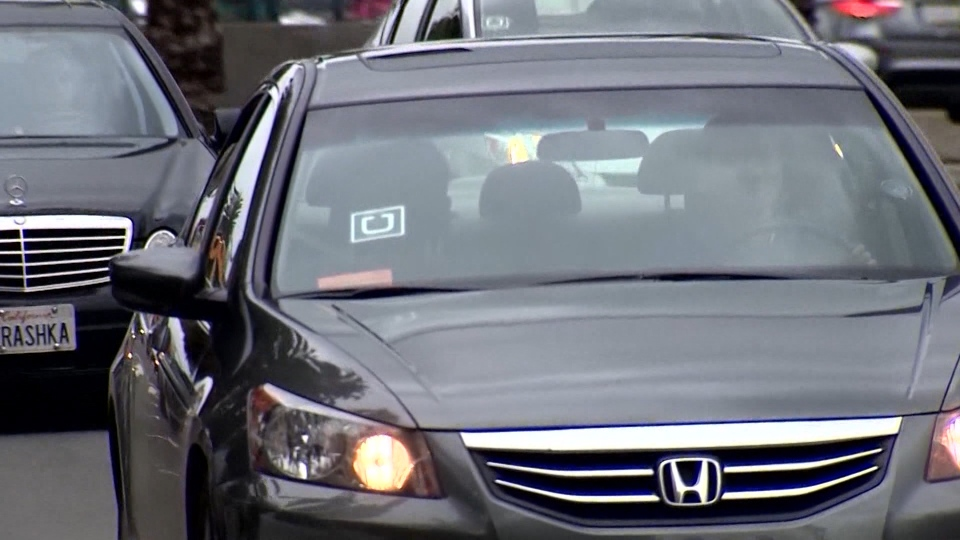 Uber vehicle