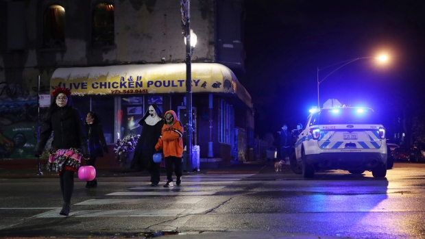 Boy, 15, charged in Chicago Halloween shooting of seven-year-old girl