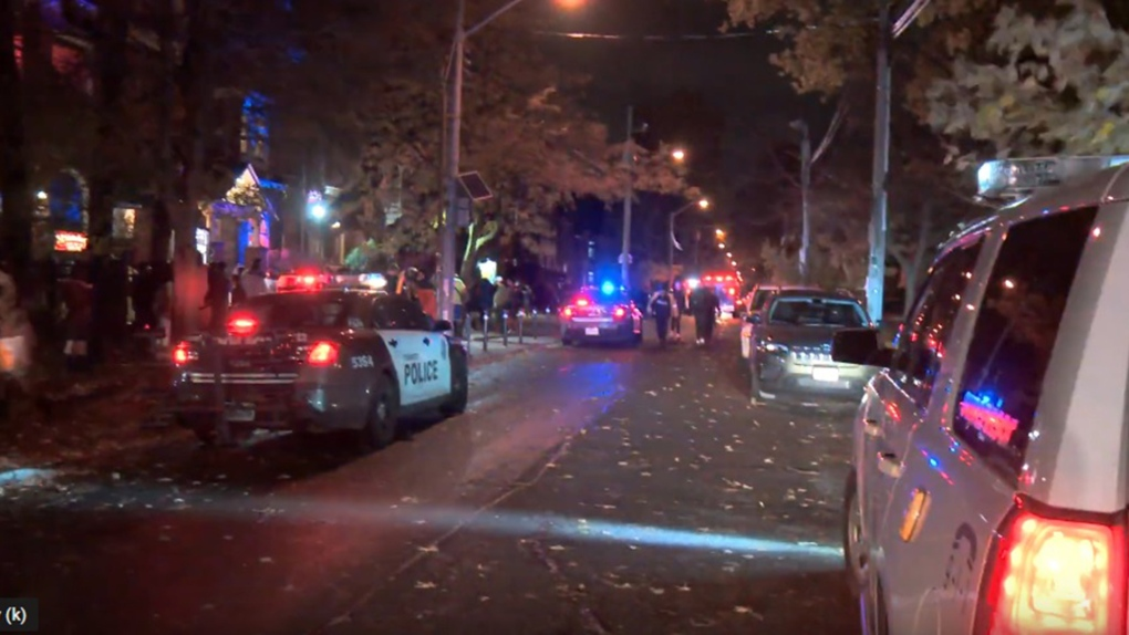 Suspect stabbed six people at Halloween party in the Annex