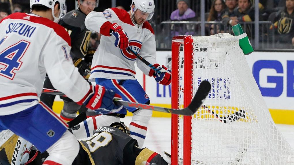 Montreal Canadiens versus Vegas Golden Knights