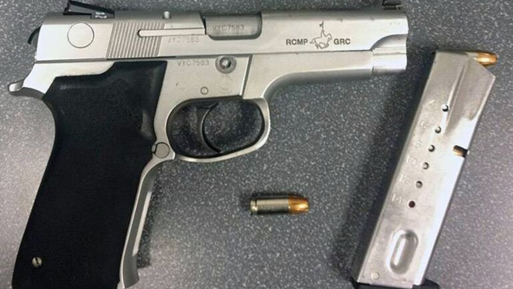 RCMP handgun stolen at mall in west Toronto