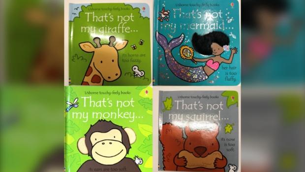 Children's books recalled