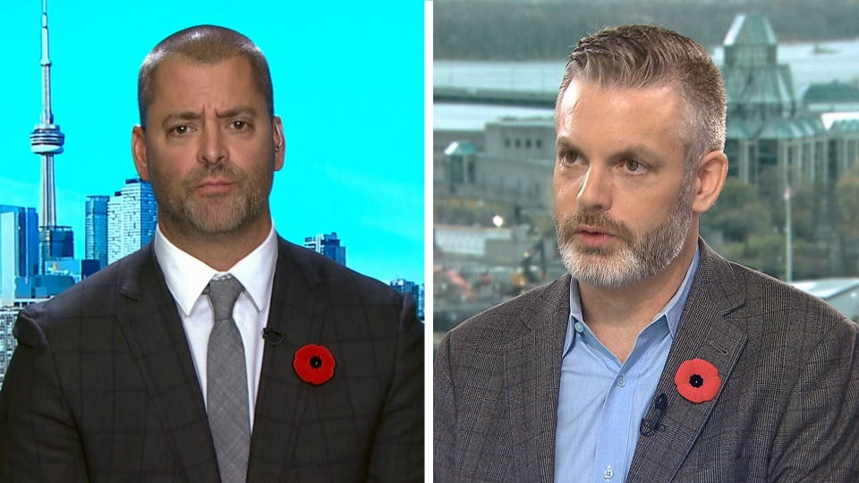 Conservative insiders Jason Lietaer  and Kory Teneycke on CTV's Question Period.