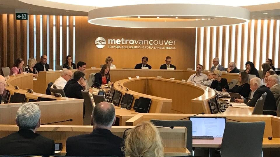 Metro Vancouver committee
