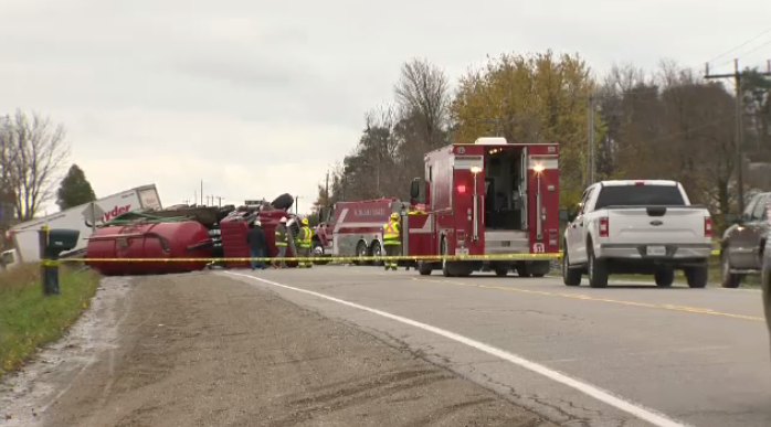 Crash in Elmira on Line 86 results in one person dead.