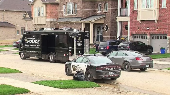 This normally quiet Georgetown, Ont., neighborhood was the scene of a murder on Tuesday night. Halton Regional Police say 36-year-old Ryan Lorde, a Halifax native, was found dead outside his own home.