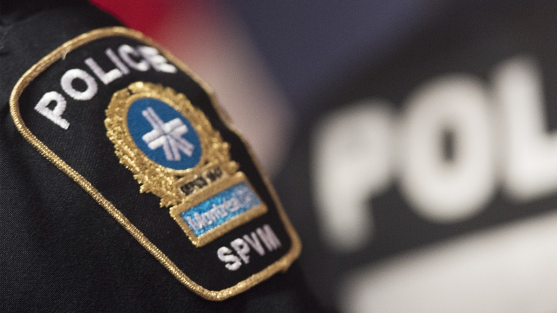 A file photo of a Montreal police officer. (THE CANADIAN PRESS/Graham Hughes)