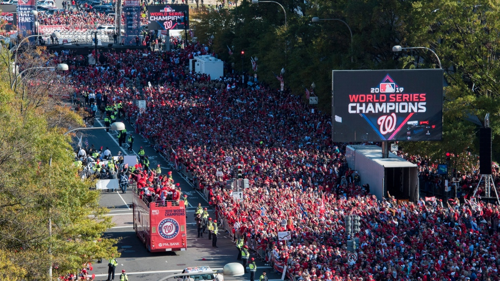 Washington Nationals parade
