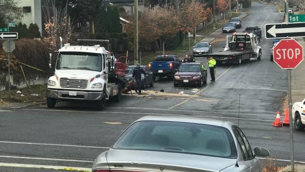 Kamloops car crash