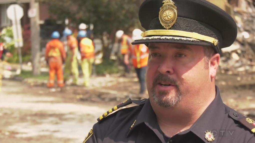London's Acting Deputy Fire Chief Jack Burt