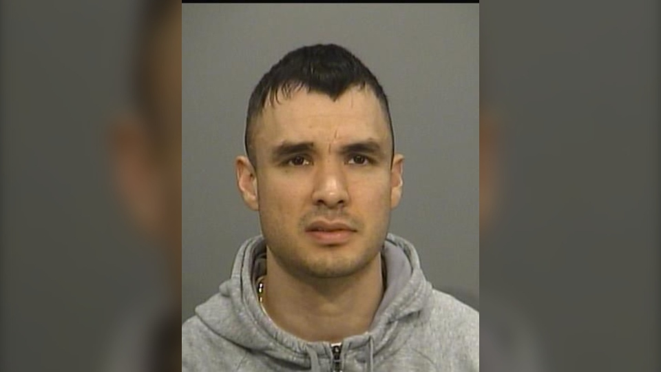 David Thomson, 35, is seen in this undated photograph provided by police. (Hamilton Police Services)