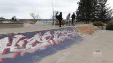 Swastikas spark concerns at Moncton skate park