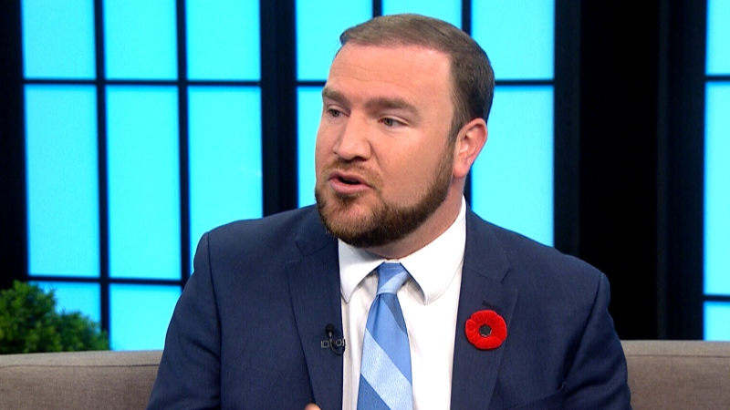 Stormont—Dundas—South Glengarry MP Eric Duncan appears on CTV's Your Morning on Monday, Nov. 4, 2019.