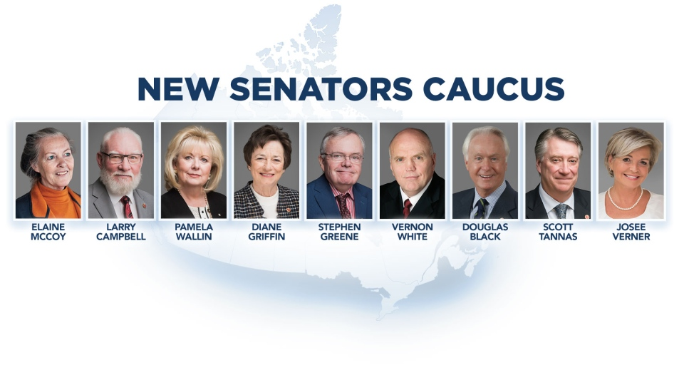 The Canadian Senators Group (CSG) contains two former Conservatives and nine former members of the Independent Senators Group (ISG).