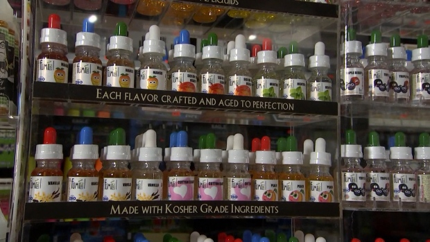 Vaping flavours