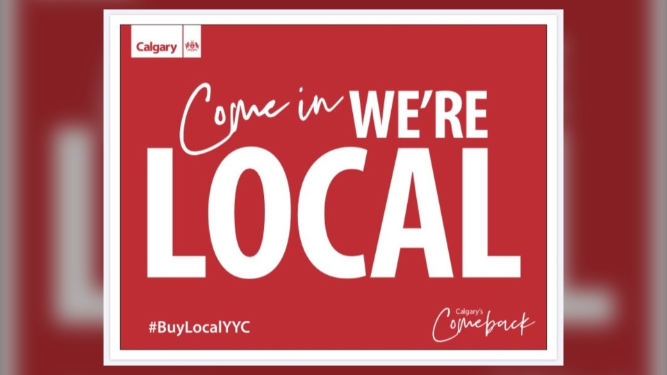 City of Calgary, local, buylocalyyc