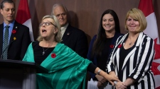 Elizabeth May steps down as party leader