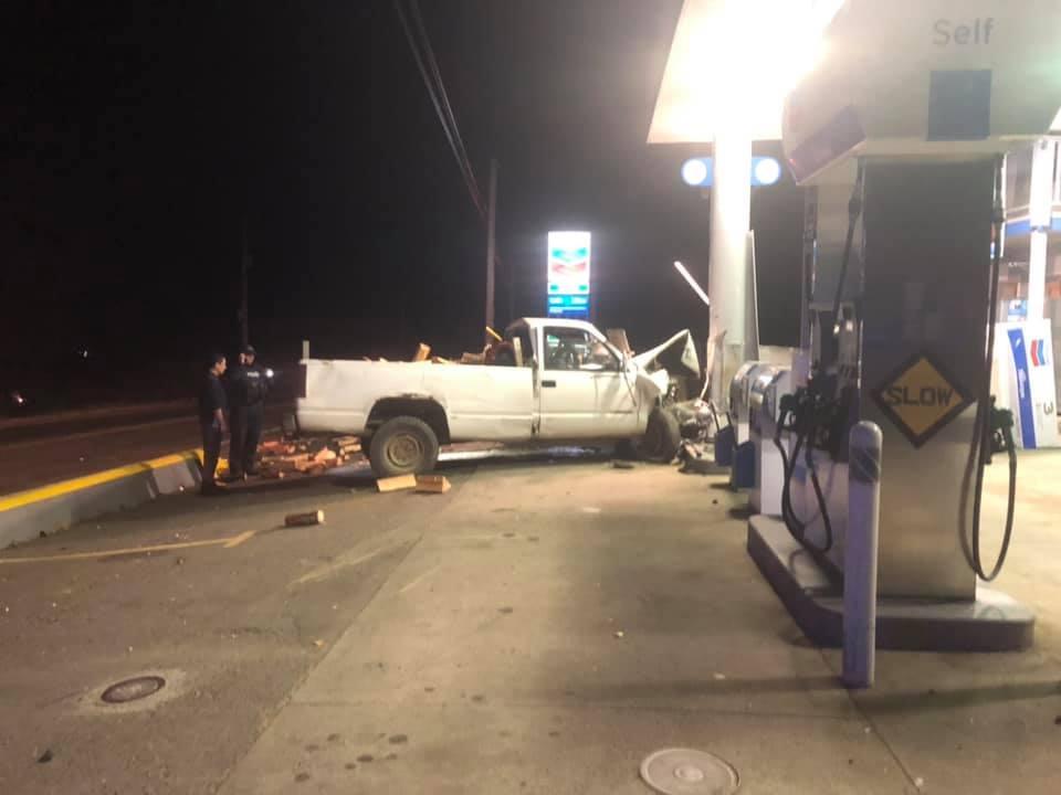 Qualicum gas station