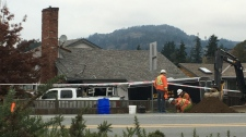 Luxton truck crash