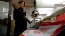 The U of C Dinos women's soccer team won their division championship game, then discovered the jerseys they planned to wear in the the national finals were stolen