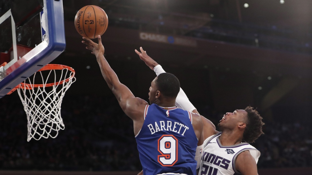 What Load Management Rookie Rj Barrett Logging Heavy Minutes In New York Ctv News
